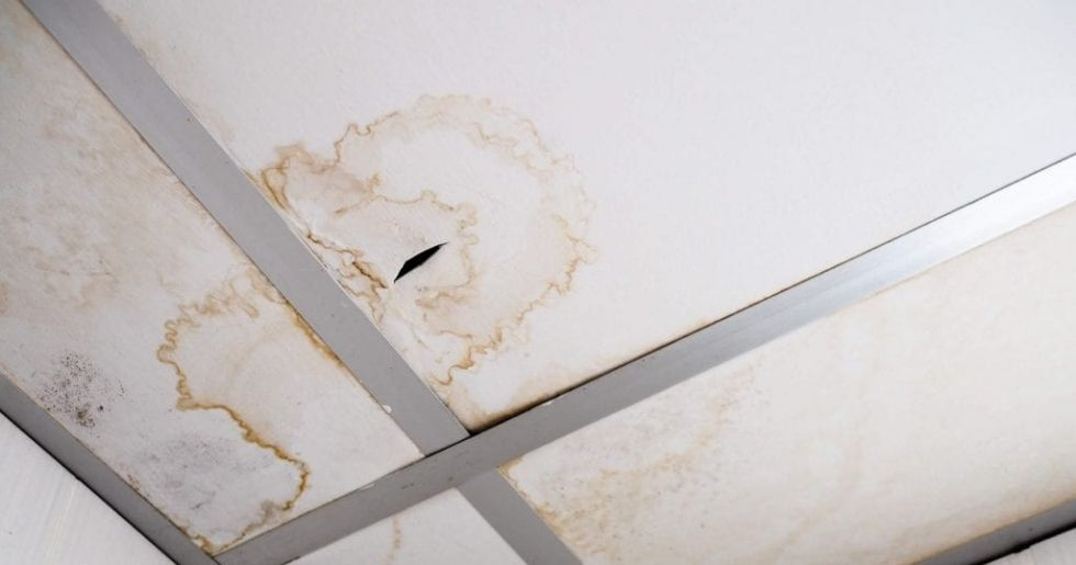 ceiling stain