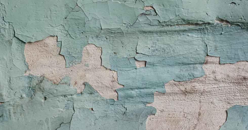 paint peeling