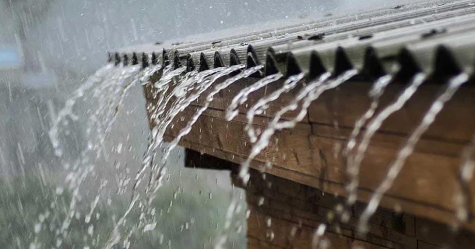 aluminium roofing sheets makes noise when it rains
