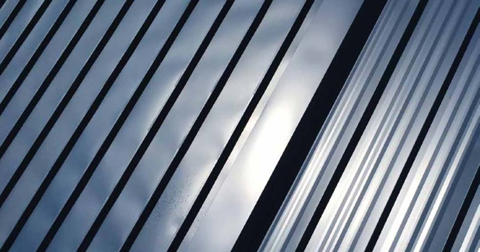 oil canning in aluminium roofing sheets