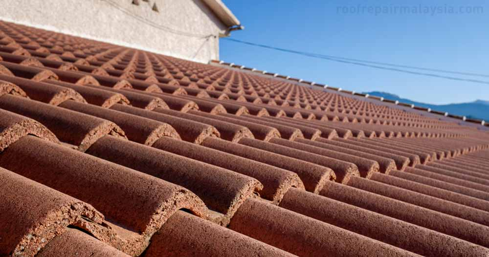 clay roof tile is temperature resistant