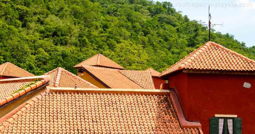 clay tile perfect as facade cladding