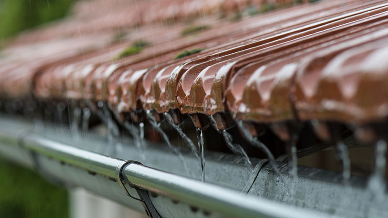 heavy storms could cause hairline crack in roof tiles